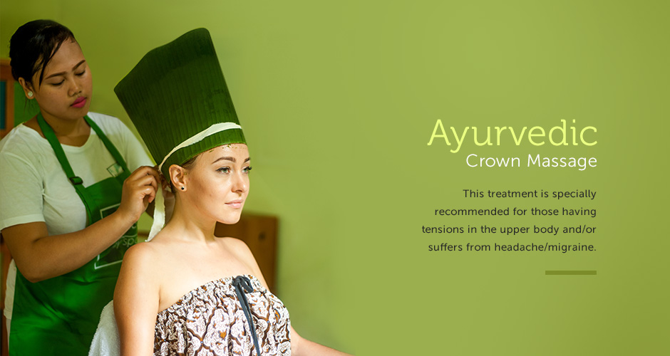 Ayurvedic Crown Massage